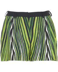 Elie Saab Printed Shorts - Green