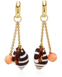 Haute Victoire 18k Gold Earrings - Metallic