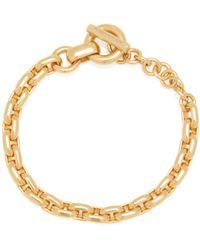 Bottega Veneta Chain Gold-plated Bracelet - Metallic