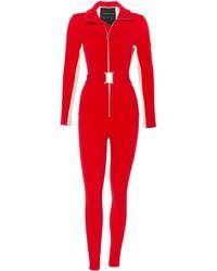 CORDOVA The Striped Stretch-shell Snowsuit - Red