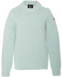Moncler Genius - Cable-knit Alpaca-blend Sweater - Lyst