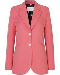 Stine Goya Florence Crepe Blazer - Pink