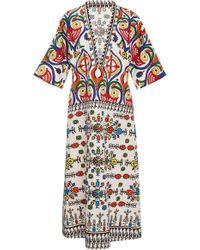 Rianna + Nina - Rianna Cotton Printed Dress - Lyst