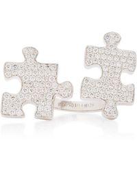Akillis 18k Gold Diamond Ring - White