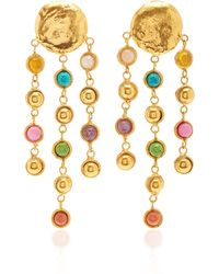 Sylvia Toledano Rain Drops Multi-stone Earrings - Multicolour