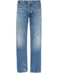 Citizens of Humanity Wyatt Authentic Narrow-fit Jeans - Blue