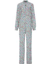 Jill Stuart - Kim Printed Jumpsuit - Lyst