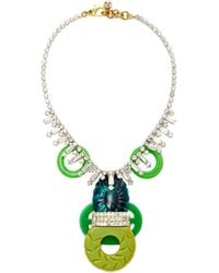 Lulu Frost One-of-a-kind Vintage 75 Year Necklace #8 - Green