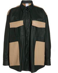 Paris Georgia Basics Dylan Leather Shirt - Multicolour