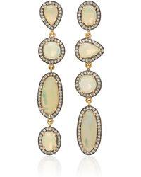 18K22K 24K Gold Ruby And Diamond Earrings Amrapali bKLfQM