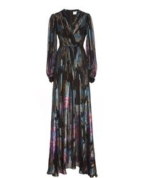 Peter Pilotto Fireworks Fil Coupe Gown - Multicolor