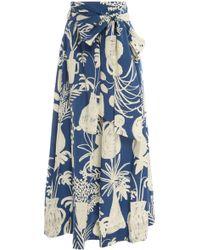 WHIT - Kimani Organic Cotton Skirt - Lyst