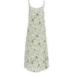 Ciao Lucia Cristina Dress In Isola Print - Multicolour