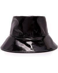 Eric Javits Patti Pvc Bucket Hat - Black
