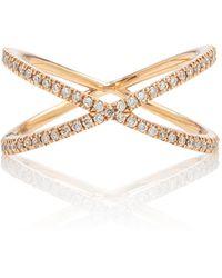 Eva Fehren Ombre Shorty Diamond Ring - Pink