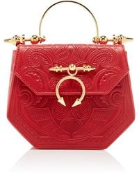 OKHTEIN - Embossed The Pine Minaudiere - Lyst