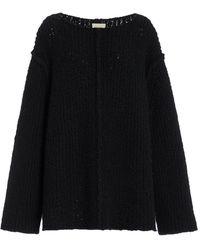 Khaite Jema Cashmere Sweater - Black