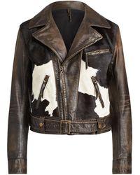 Ralph Lauren - Leather Hadley Jacket - Lyst