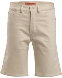 Maggie Marilyn Gorgeous Organic Cotton Bermuda Shorts - White