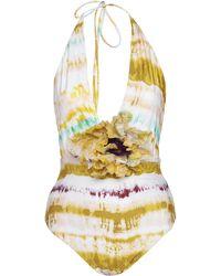 Silvia Tcherassi Calen One Piece Swimsuit - Multicolor