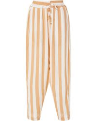 Faithfull The Brand - Vedado Striped Trousers - Lyst