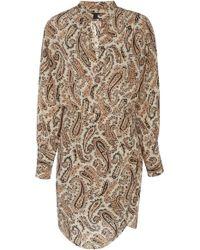 Nili Lotan - Leora Silk Dress - Lyst