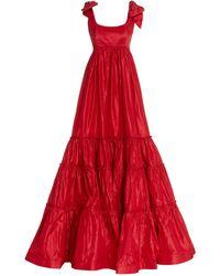 Leal Daccarett Taroa Gown - Red