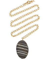 CVC Stones Aline 18k Gold, Diamond And Stone Necklace - Multicolour