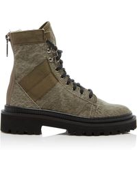 Balmain Jared Canvas Boot - Grey