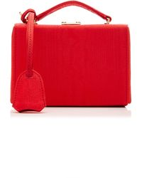 Mark Cross Grace Mini Textured-leather Shoulder Bag