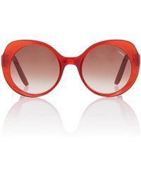 LAPIMA - Carota Round-frame Acetate Sunglasses - Lyst