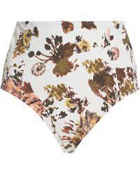 Ulla Johnson Zahara High-rise Bikini Bottoms - Multicolor