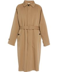 Acne Studios Oles Wool-blend Trench Coat - Natural