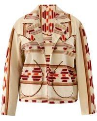 Alix Of Bohemia Dune Indian Summer Ikat Jacket - Multicolour