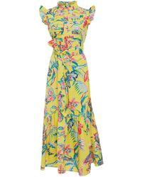 Banjanan - Amazon Printed Maxi Dress - Lyst