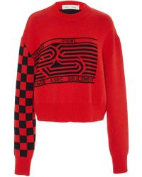 Proenza Schouler - Pswl Graphic Jacquard Sweater - Lyst