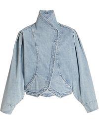 Isabel Marant Pauline Denim Jacket - Blue