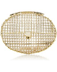 Anndra Neen - Oval Cage Clutch - Lyst