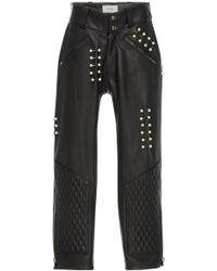Rodarte - Quilted Leather Pant - Lyst