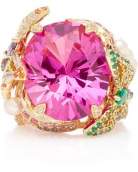 Anabela Chan - Rose Swallowtail Pink Sapphire Ring - Lyst