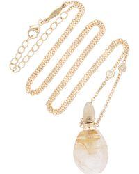 Jacquie Aiche - Small Aladdin Rutilated Quartz Potion Bottle Necklace - Lyst
