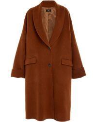 JOSEPH - Kara Wool Long Line Coat - Lyst