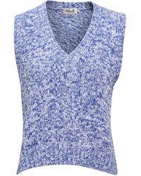 Baum und Pferdgarten Custella Knit Vest With V-neck - Blue
