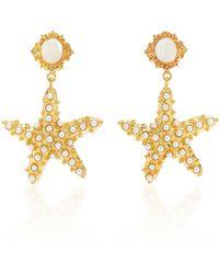 Christie Nicolaides Sofia Moonstone Earrings - White