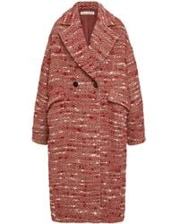 Ulla Johnson - Harden Oversized Wool Blend Coat - Lyst