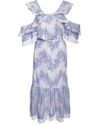 Marissa Webb | Kendra Midi Dress | Lyst