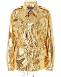 Ralph Lauren - Briar Metallic Cotton Jacket - Lyst