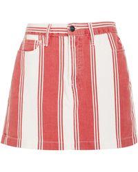 FRAME - Le Mini Skirt - Lyst
