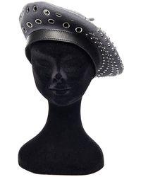 Philosophy Di Lorenzo Serafini Studded Felt Beret Hat - Grey