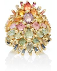 Polly Wales - One-of-a-kind Handira Shield Ring - Lyst